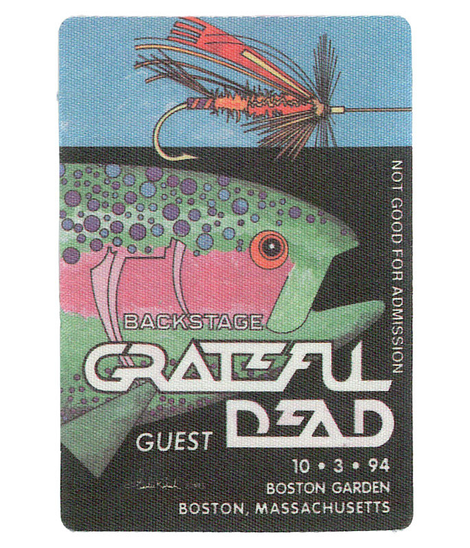 The Vault Grateful Dead 1994 10-03 Backstage Pass Liquid Blue