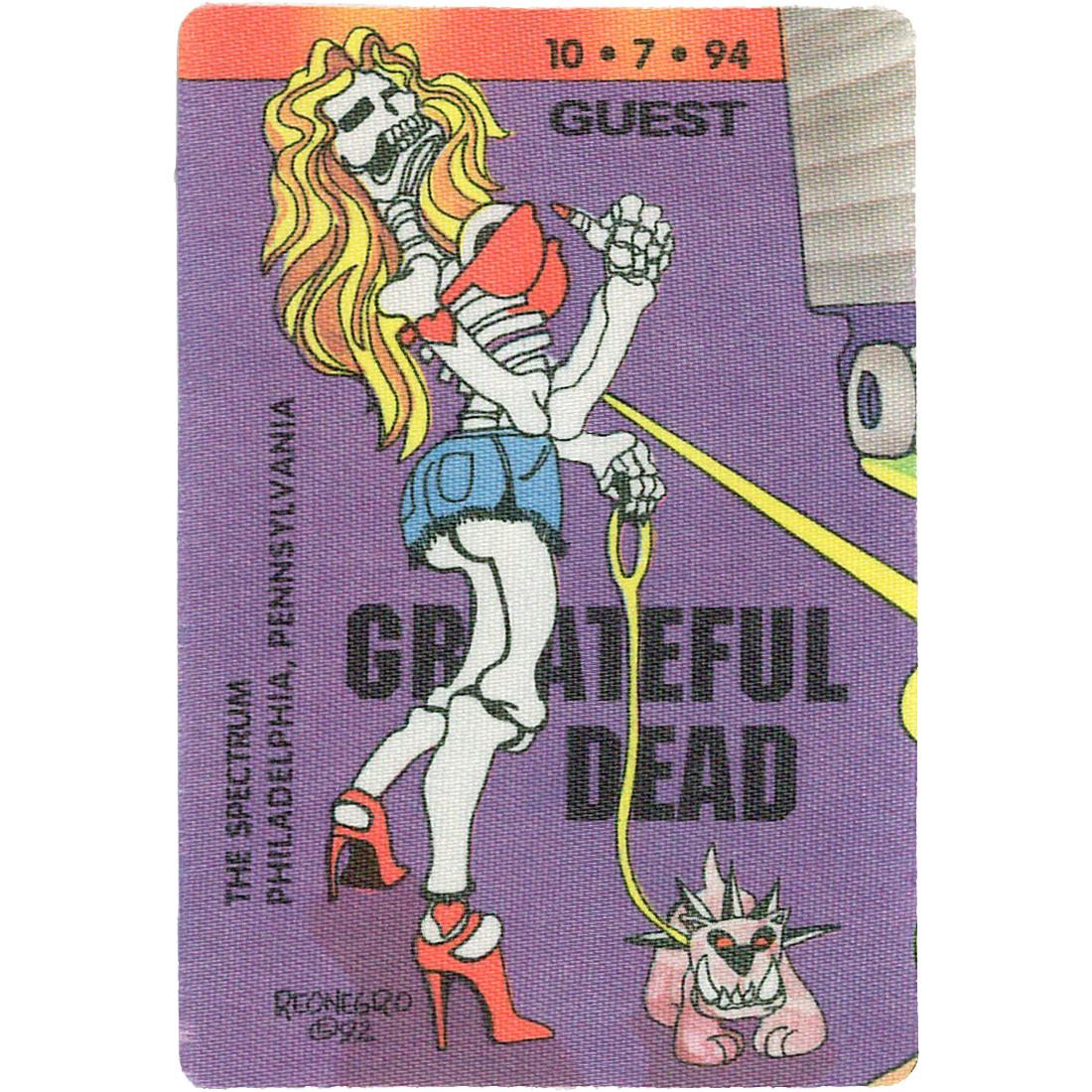 Grateful Dead 1994 10-07 Backstage Pass