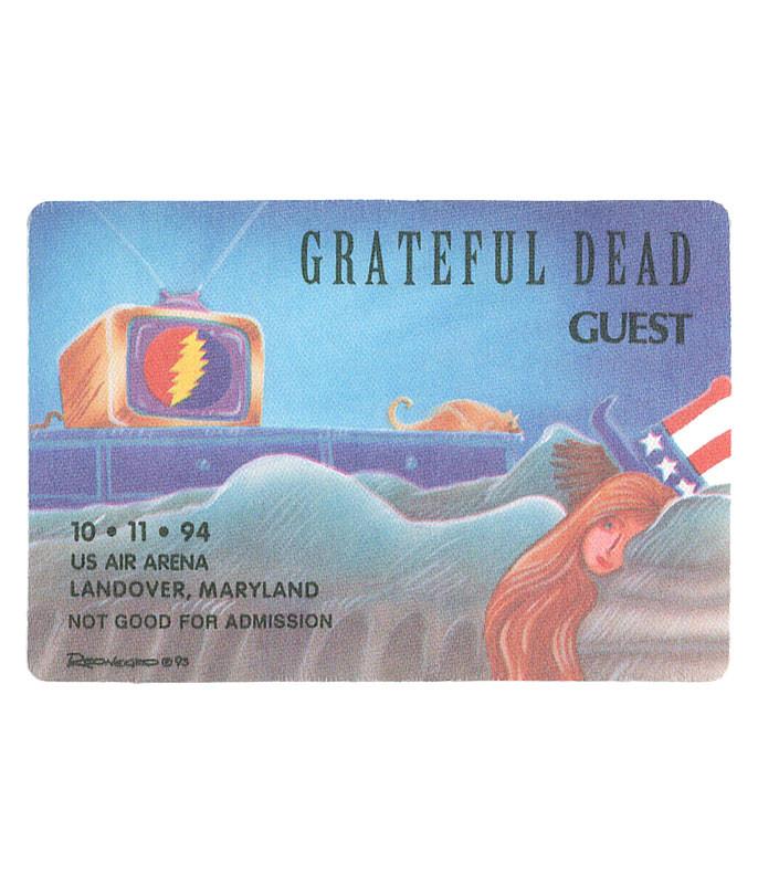 Grateful Dead 1994 10-11 Backstage Pass