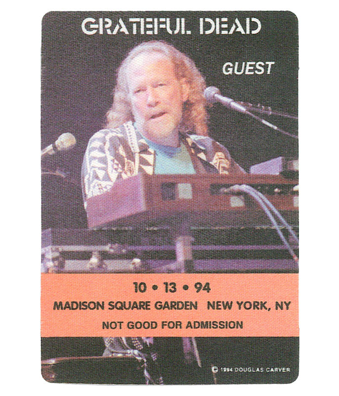 GRATEFUL DEAD 1994 10-13 BACKSTAGE PASS