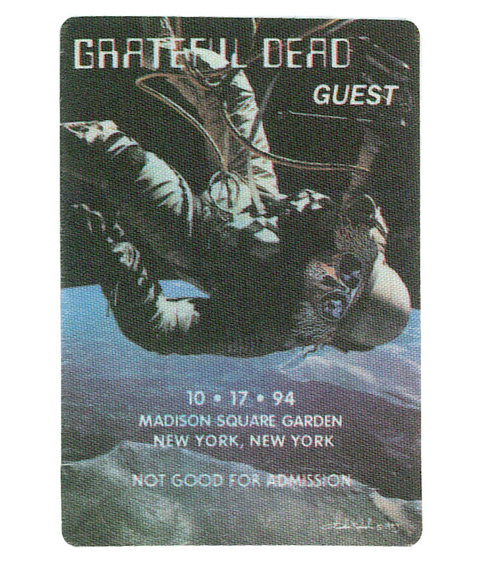 The Vault Grateful Dead 1994 10-17 Backstage Pass Liquid Blue