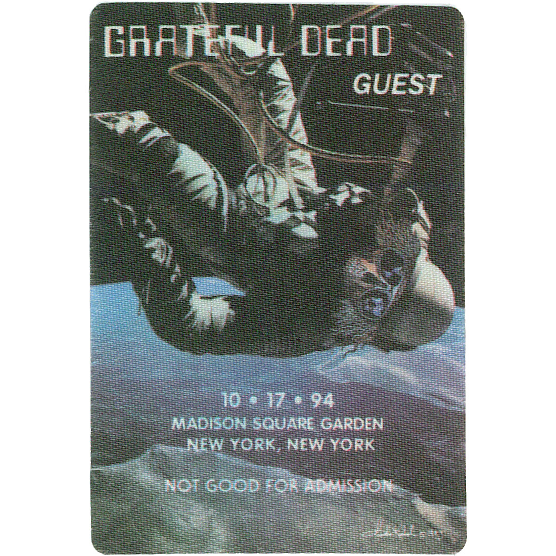 Grateful Dead 1994 10-17 Backstage Pass