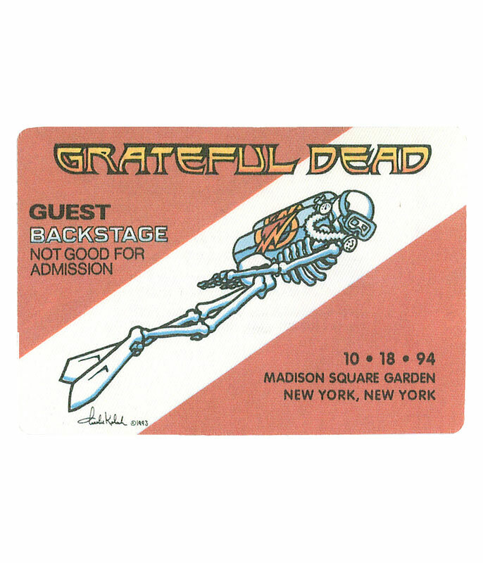 GRATEFUL DEAD 1994 10-18 BACKSTAGE PASS