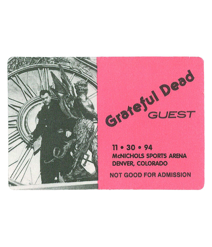 GRATEFUL DEAD 1994 11-30 BACKSTAGE PASS