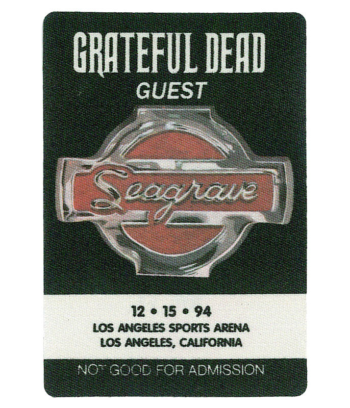GRATEFUL DEAD 1994 12-15 BACKSTAGE PASS