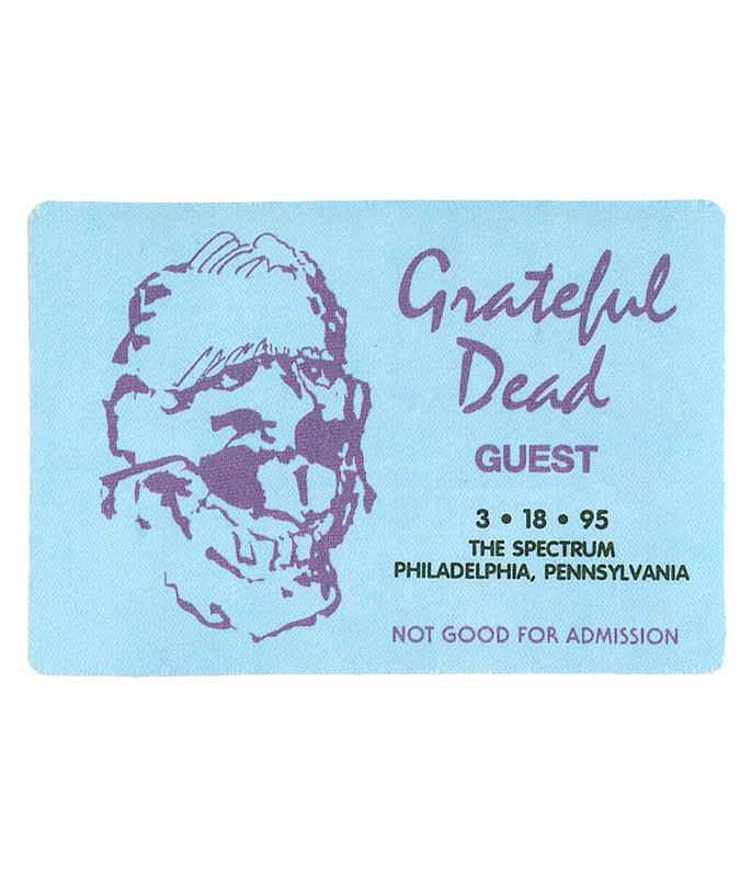 The Vault Grateful Dead 1995 03-18 Backstage Pass Liquid Blue
