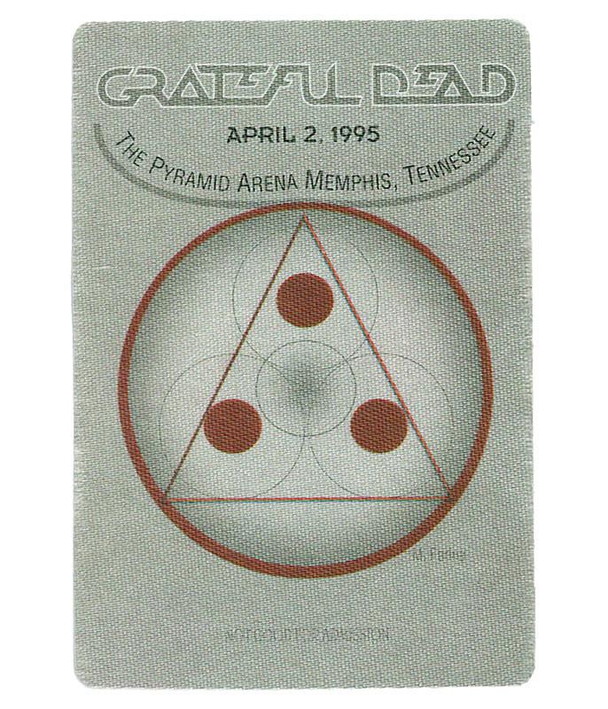 The Vault Grateful Dead 1995 04-02 Backstage Pass Liquid Blue