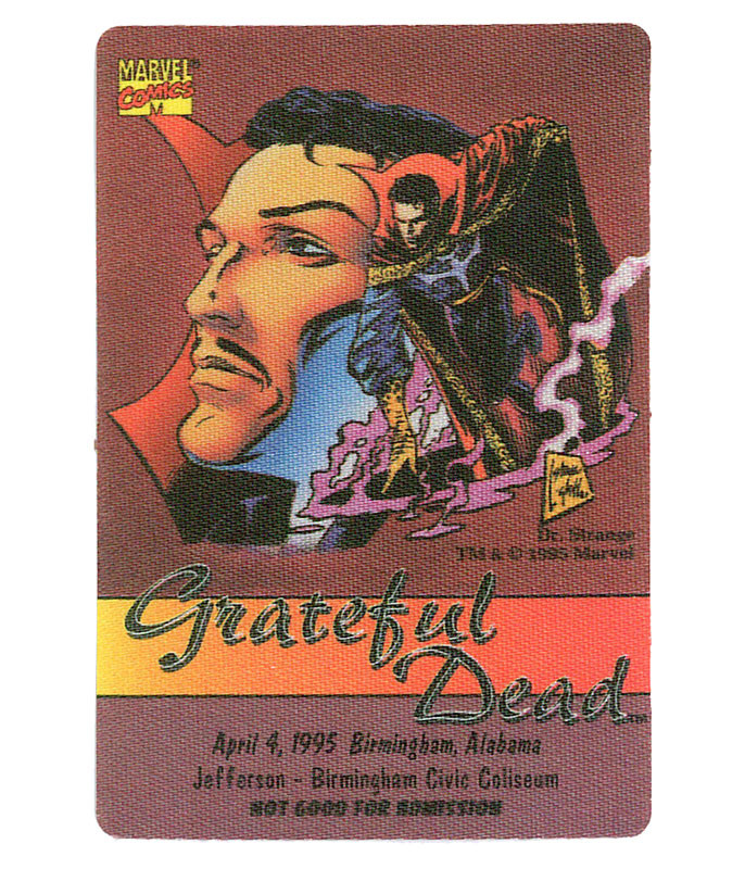 The Vault Grateful Dead 1995 04-04 Backstage Pass Liquid Blue