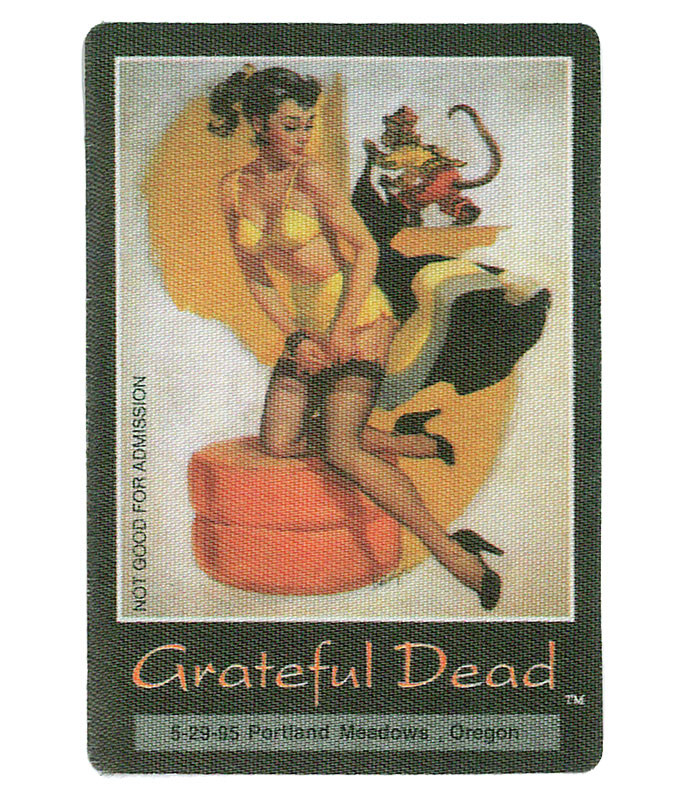 The Vault Grateful Dead 1995 05-29 Backstage Pass Liquid Blue