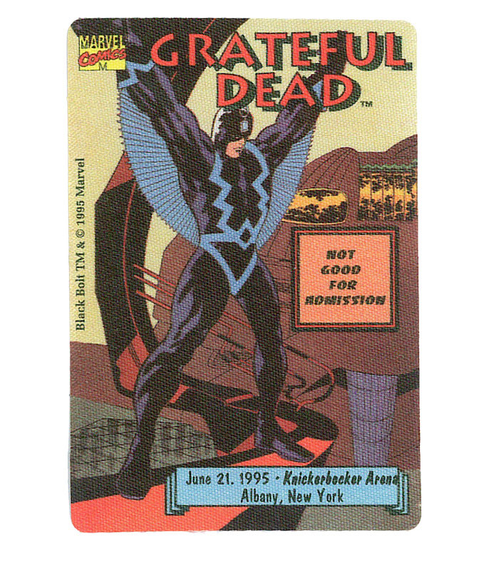 The Vault Grateful Dead 1995 06-21 Backstage Pass Liquid Blue