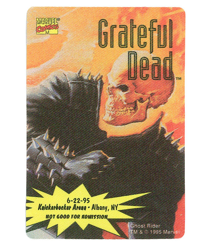 The Vault Grateful Dead 1995 06-22 Backstage Pass Liquid Blue