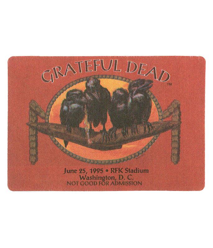 Grateful Dead 1995 06-25 Backstage Pass