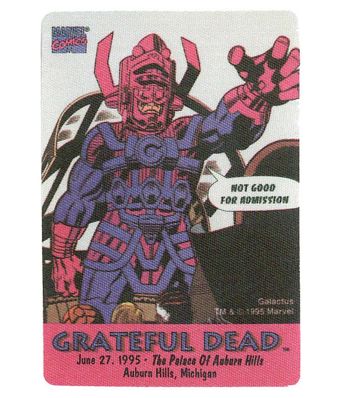 Grateful Dead 1995 06-27 Backstage Pass