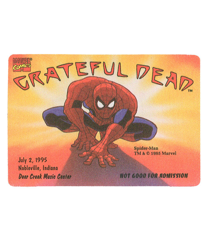 GRATEFUL DEAD 1995 07-02 BACKSTAGE PASS