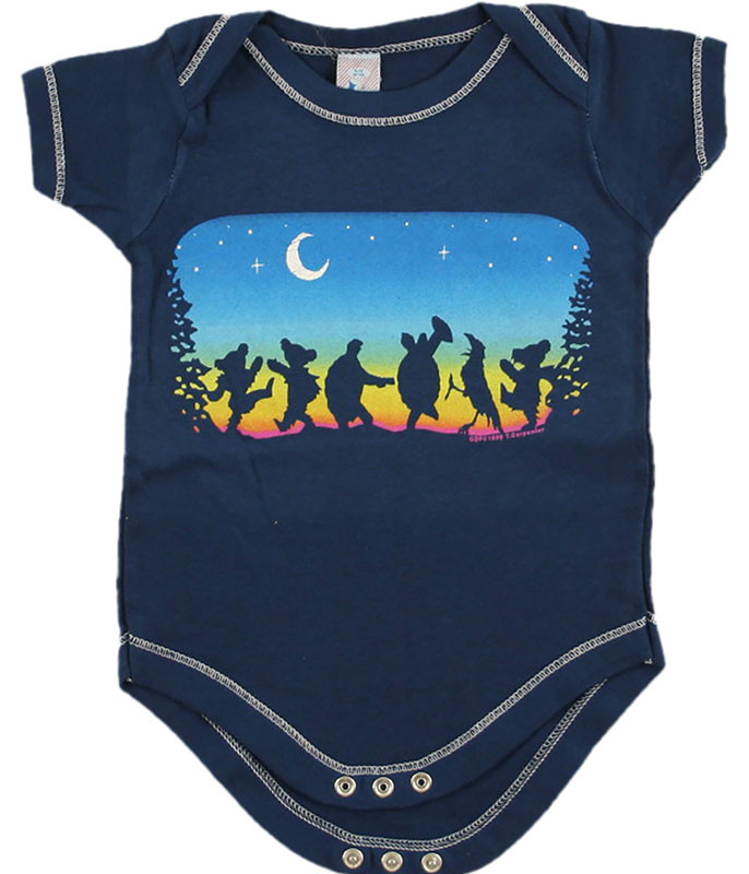 Grateful Dead GD Moondance Navy Onesie