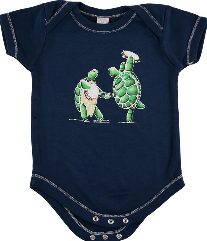 Grateful Dead GD Terrapin Station Navy Onesie