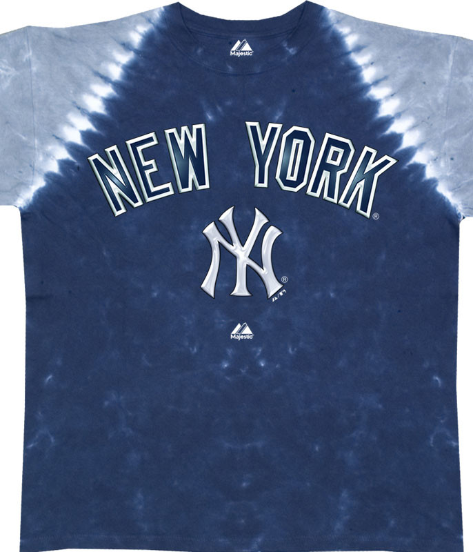 NEW YORK YANKEES RAGLAN TIE-DYE T-SHIRT