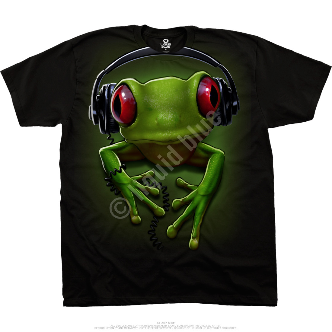 Frog Rock Black T-Shirt