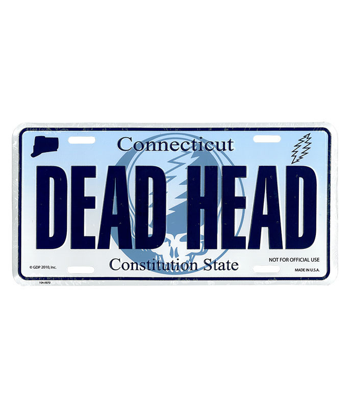 GD Connecticut License Plate
