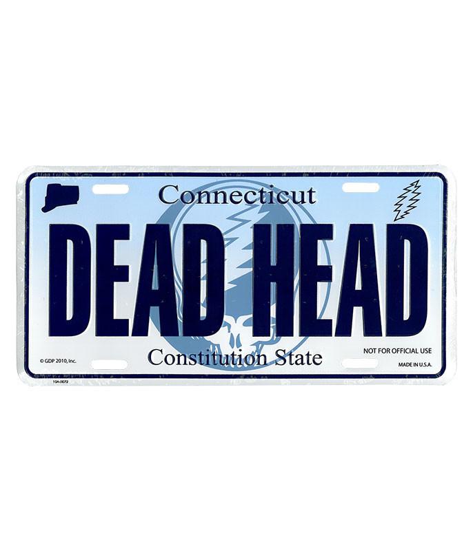 GD Connecticut License Plate