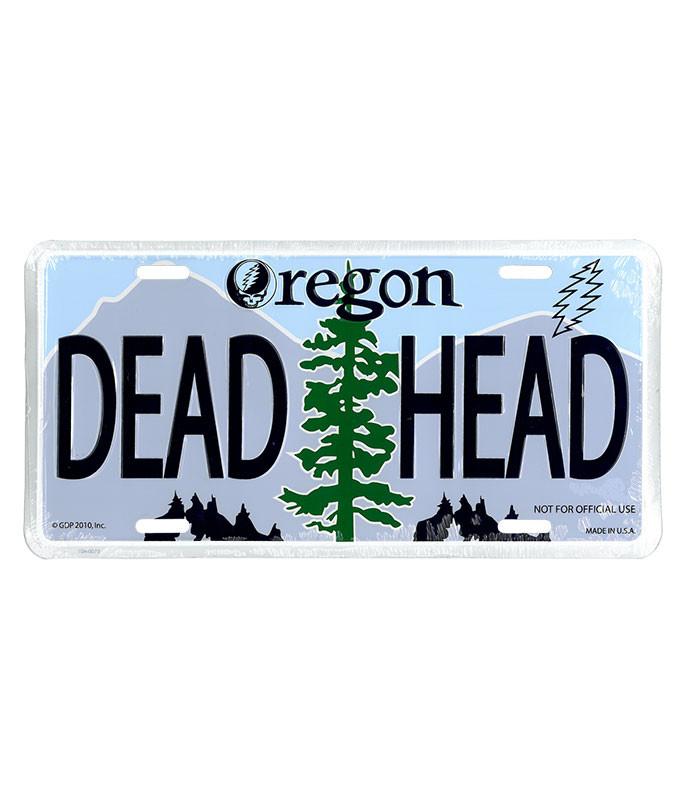 GD Oregon License Plate
