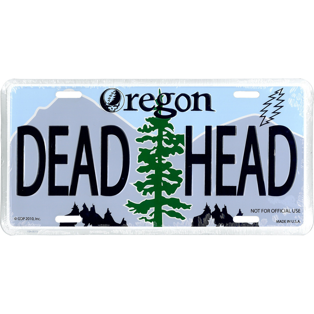 GD Oregon License Plate