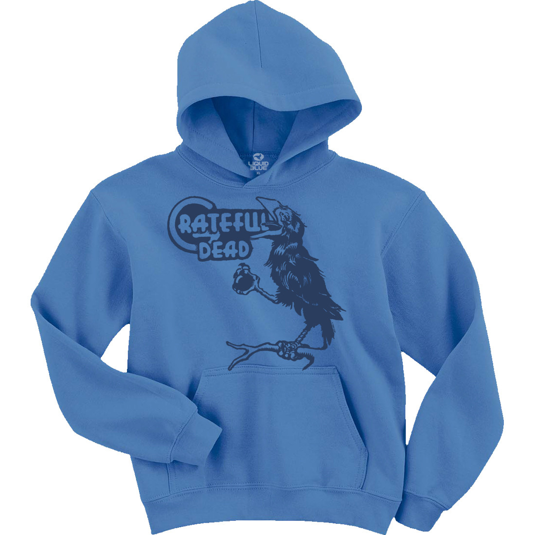 Bird Song Light Blue Hoodie