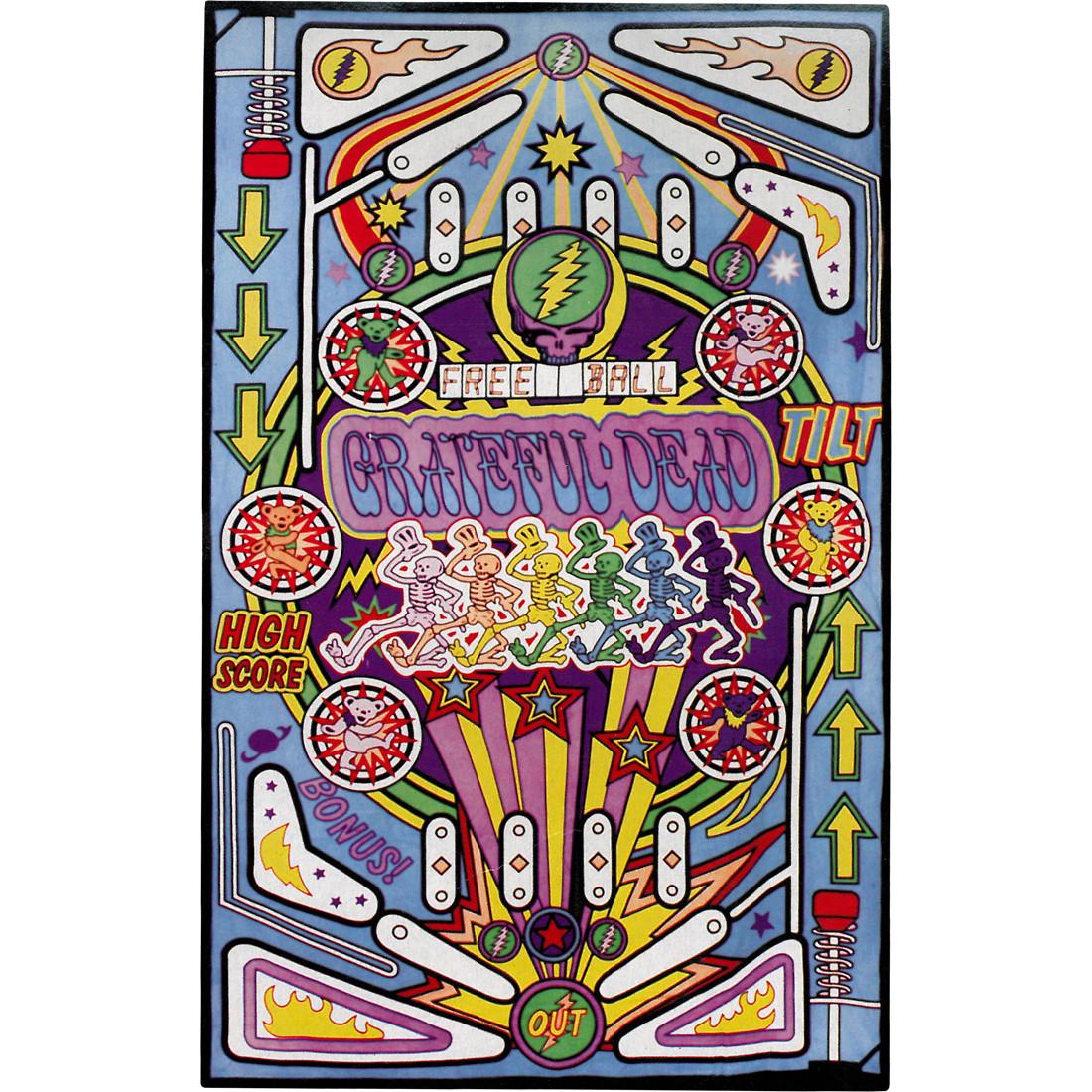 GD Pinball Machine Tapestry