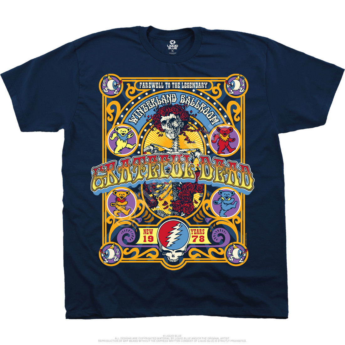 Closing Of Winterland Navy T-Shirt