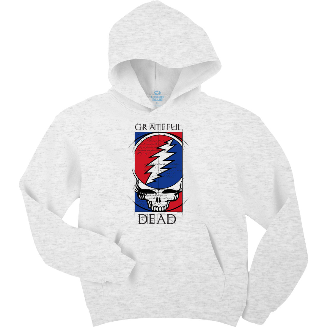 Steal Your Blueprint Ash Hoodie