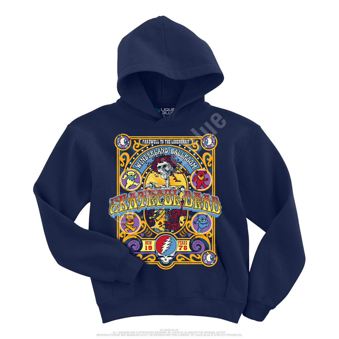 Closing Of Winterland Navy Hoodie