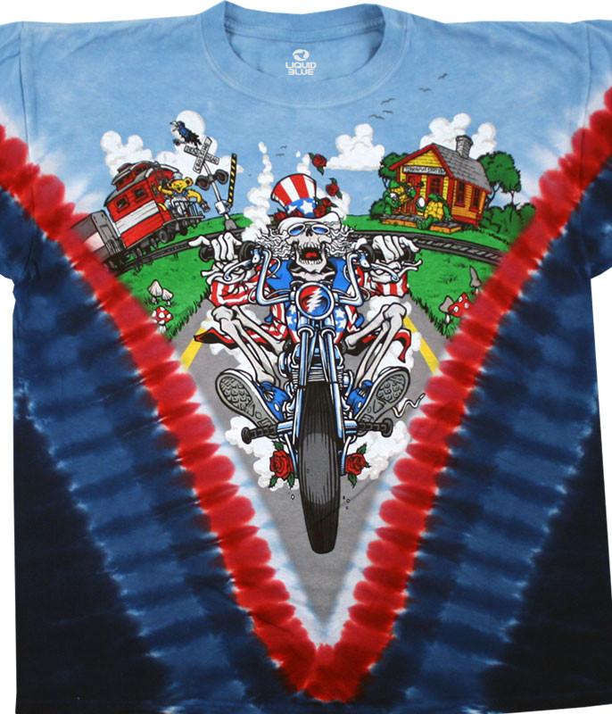 Moto Sam Tie-Dye T-Shirt