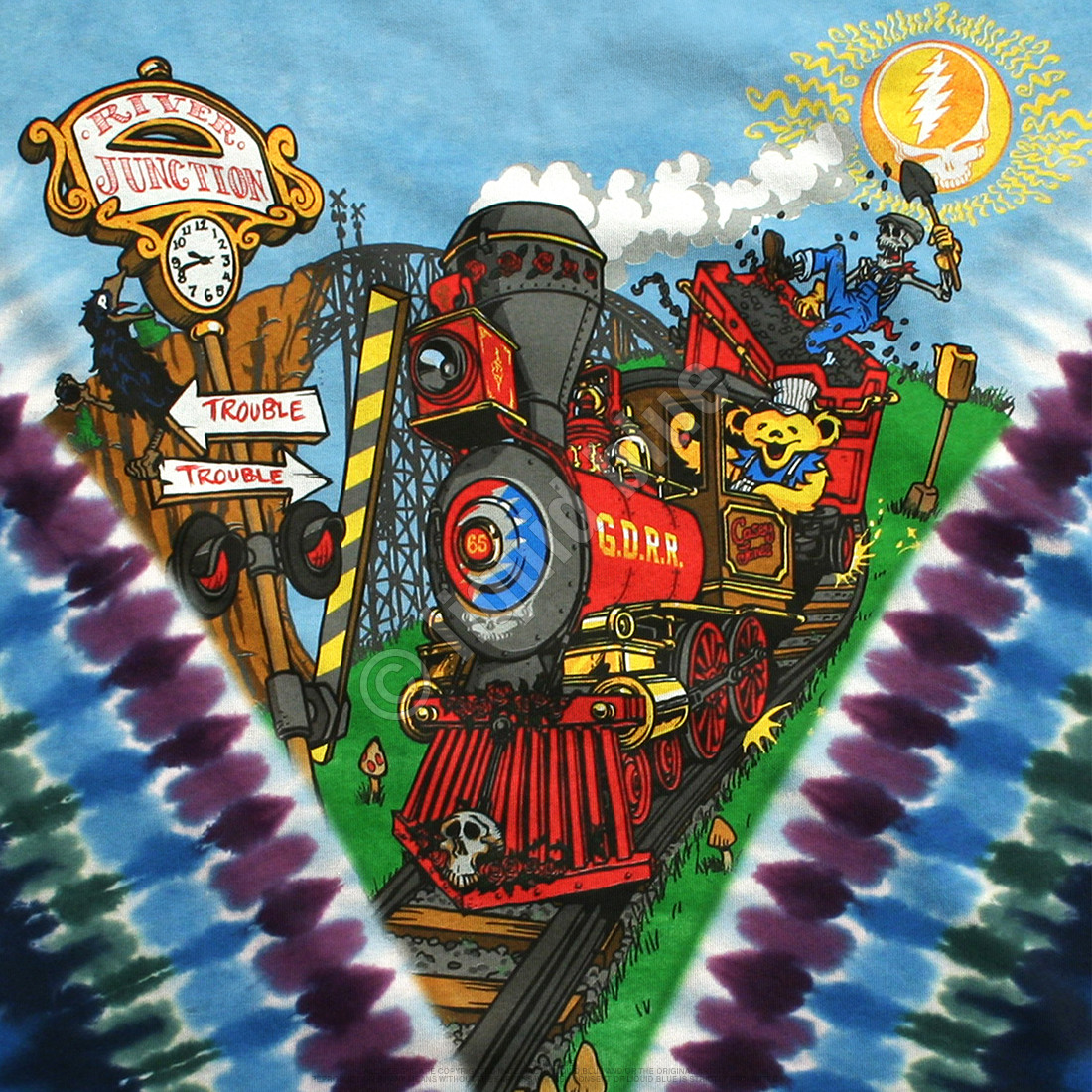 Casey Jones Tie-Dye T-Shirt