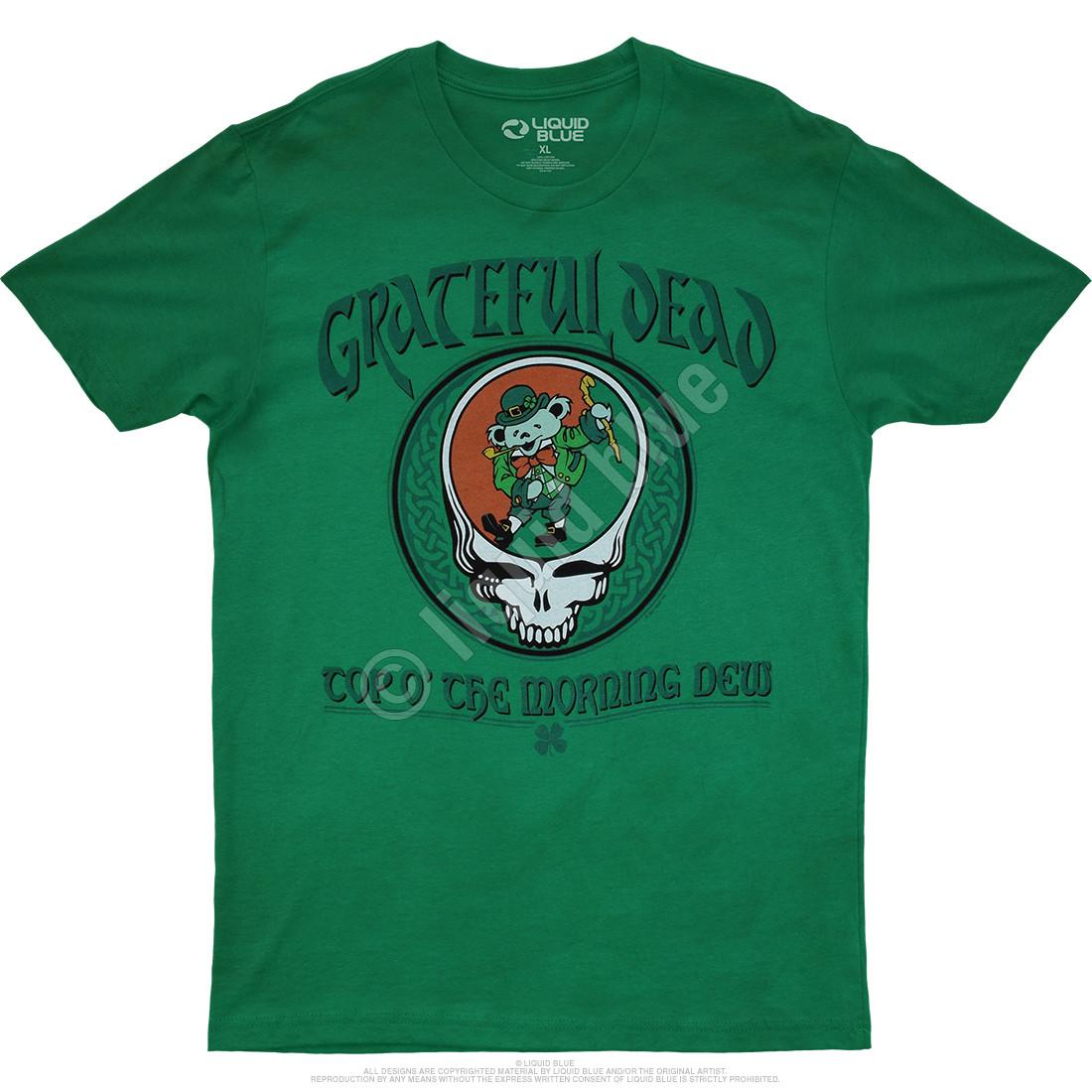 Morning Dew Green Athletic T-Shirt