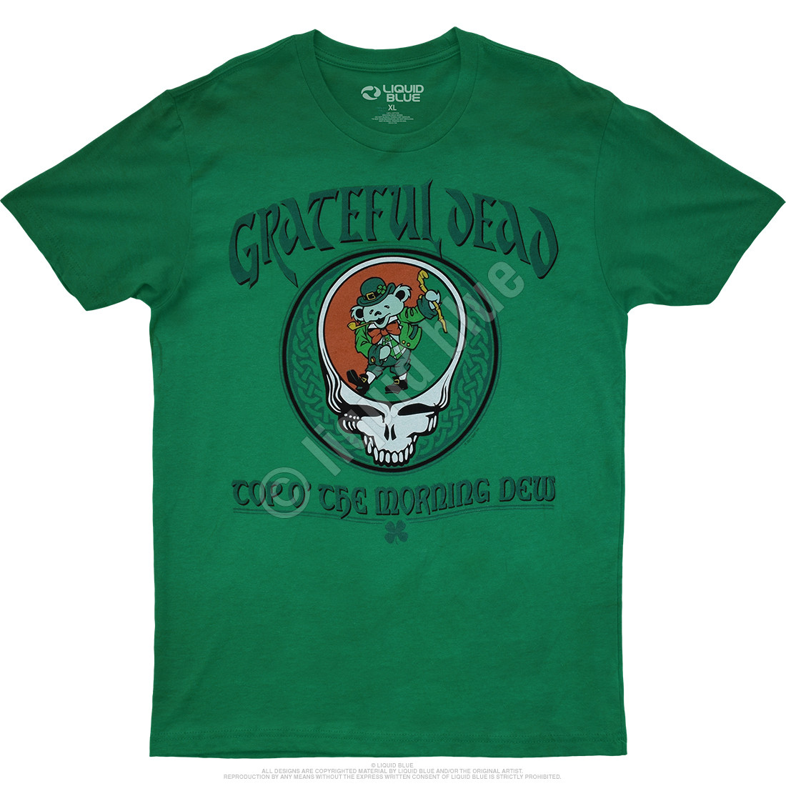 Morning Dew Green Athletic T-Shirt