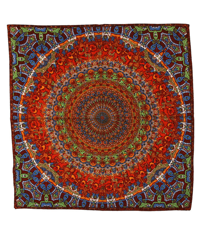 Grateful Dead Bear Vibrations Bandana