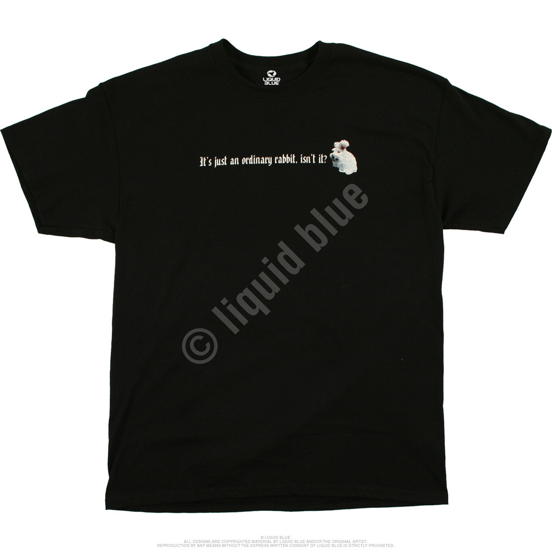 Killer Rabbit Black T-Shirt