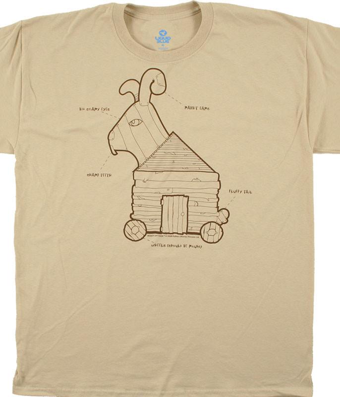 Trojan Rabbit Tan T-Shirt