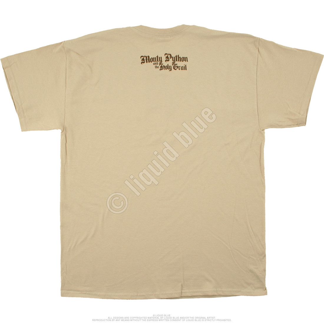 Trojan Rabbit Tan T-Shirt