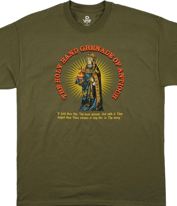 Holy Hand Grenade Green T-Shirt