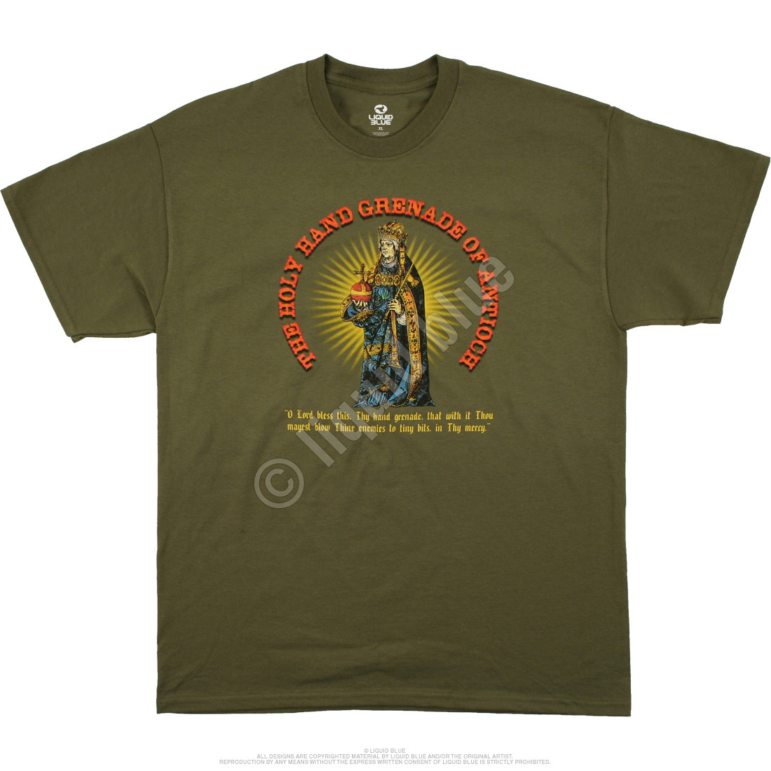 Holy Hand Grenade Green T-Shirt