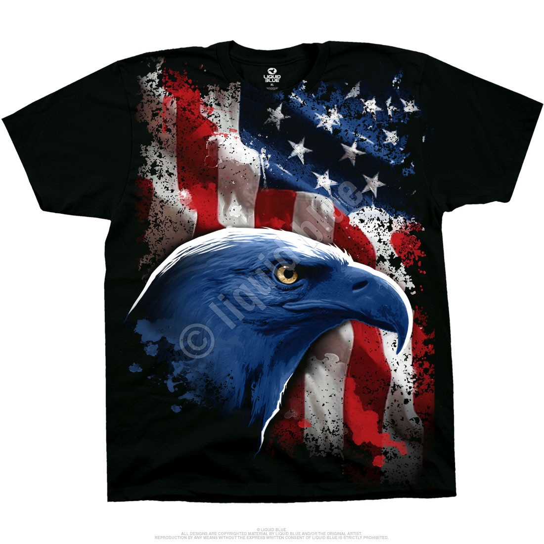 American Icon Black T-Shirt