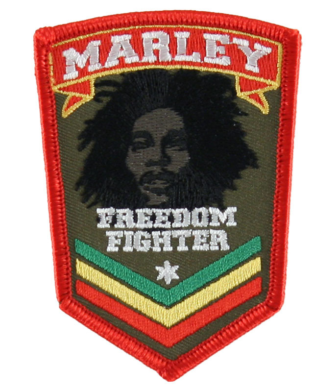 Bob Marley Stripes Patch