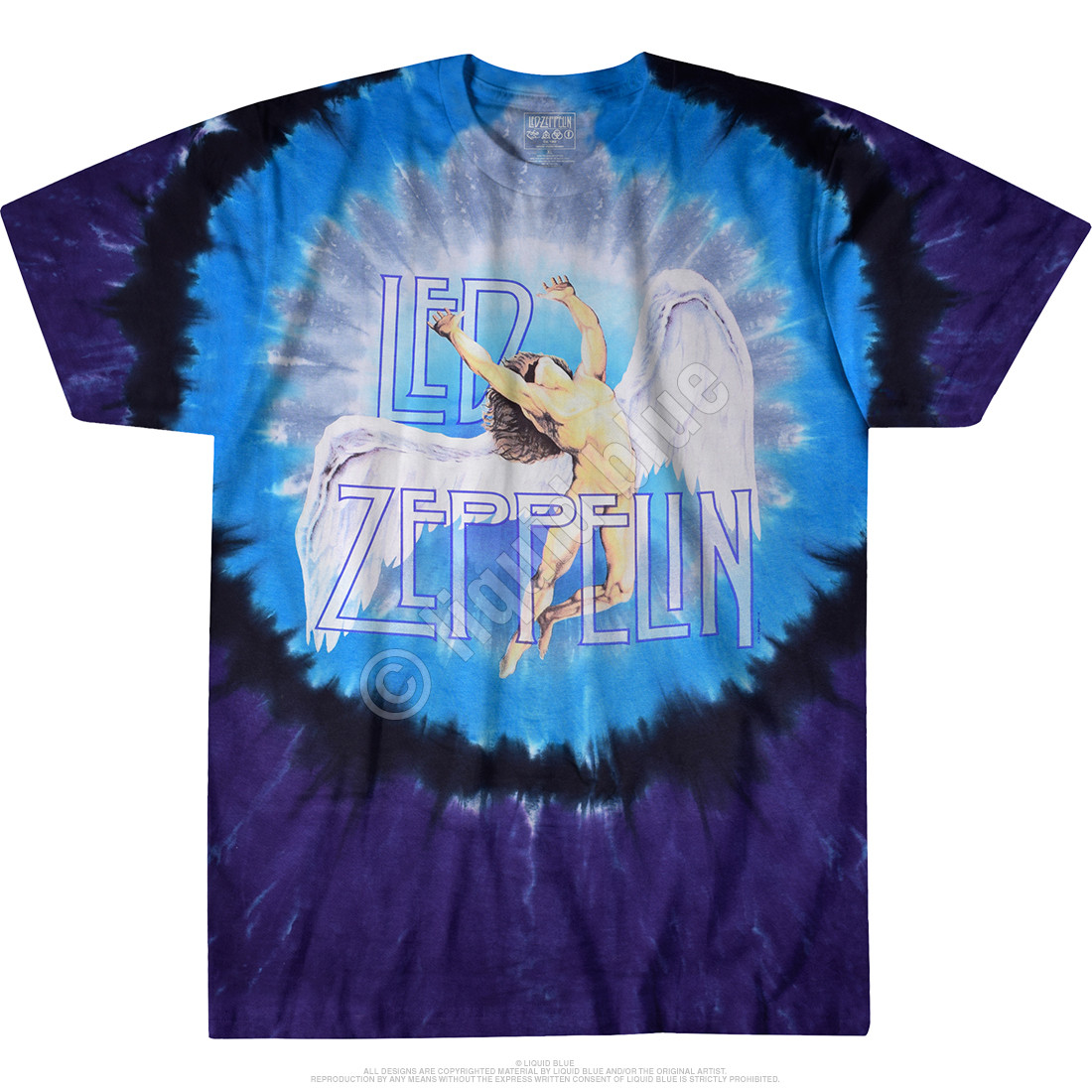 Swan Song Tie-Dye T-Shirt