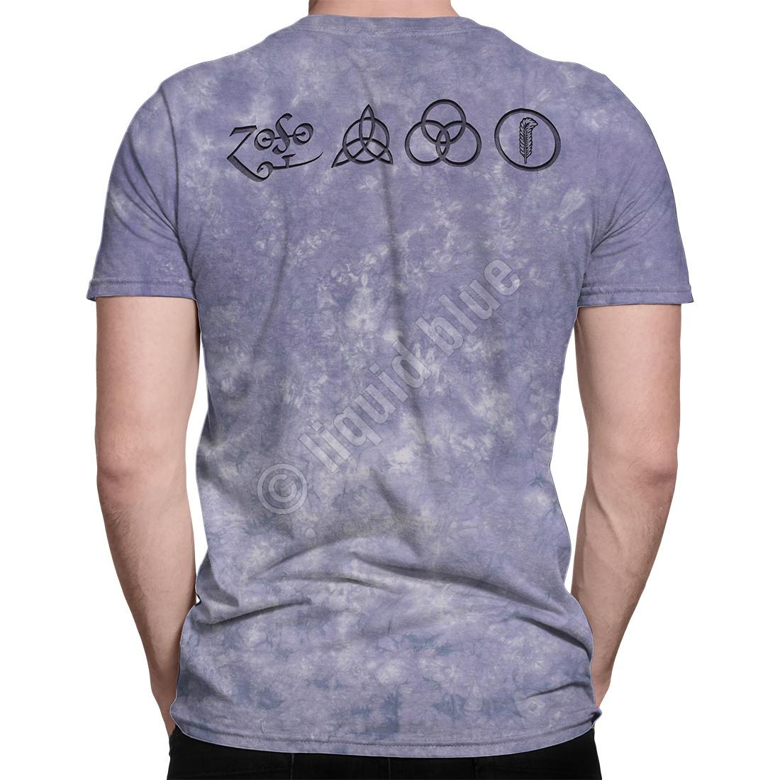 Man With Sticks Tie-Dye T-Shirt