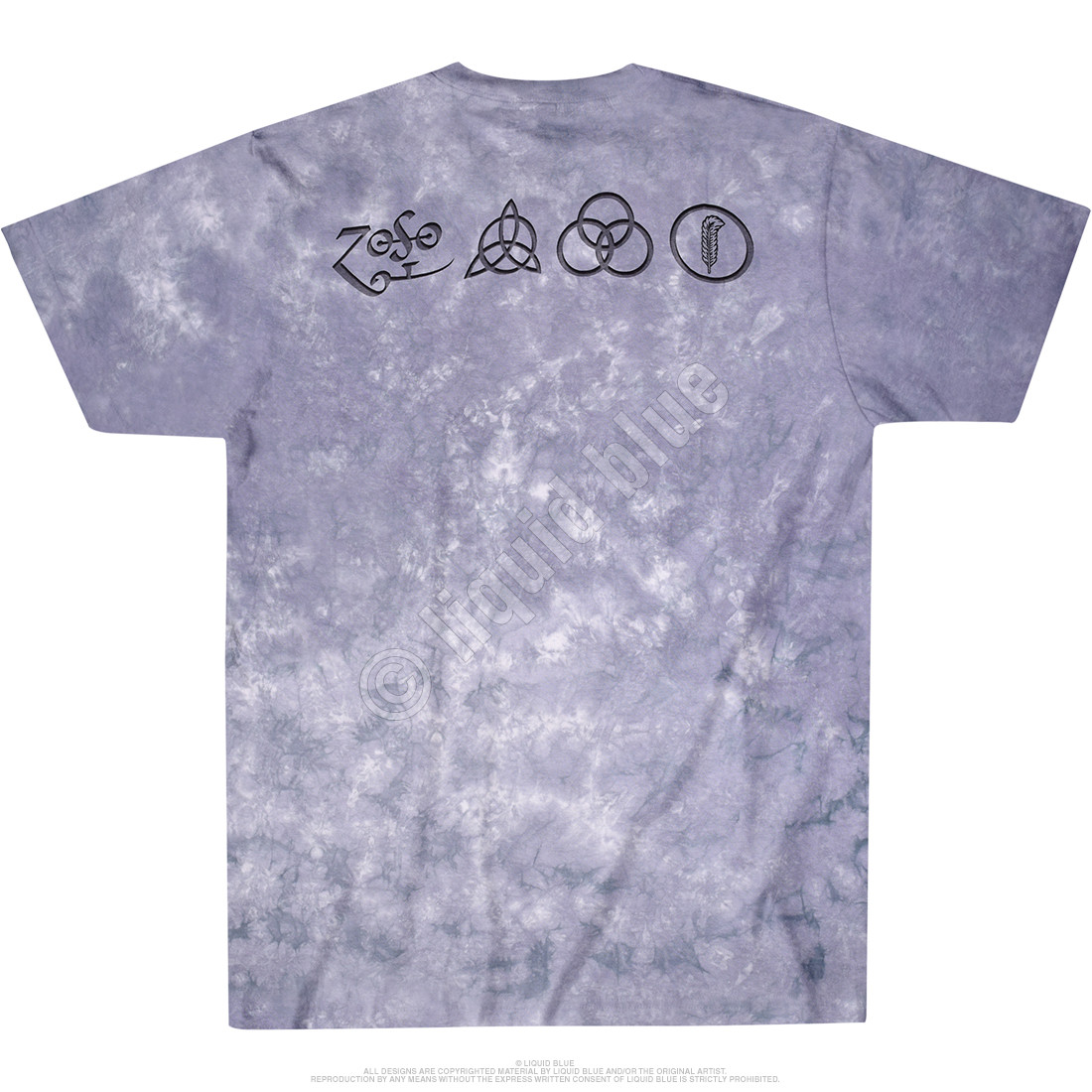 Man With Sticks Tie-Dye T-Shirt