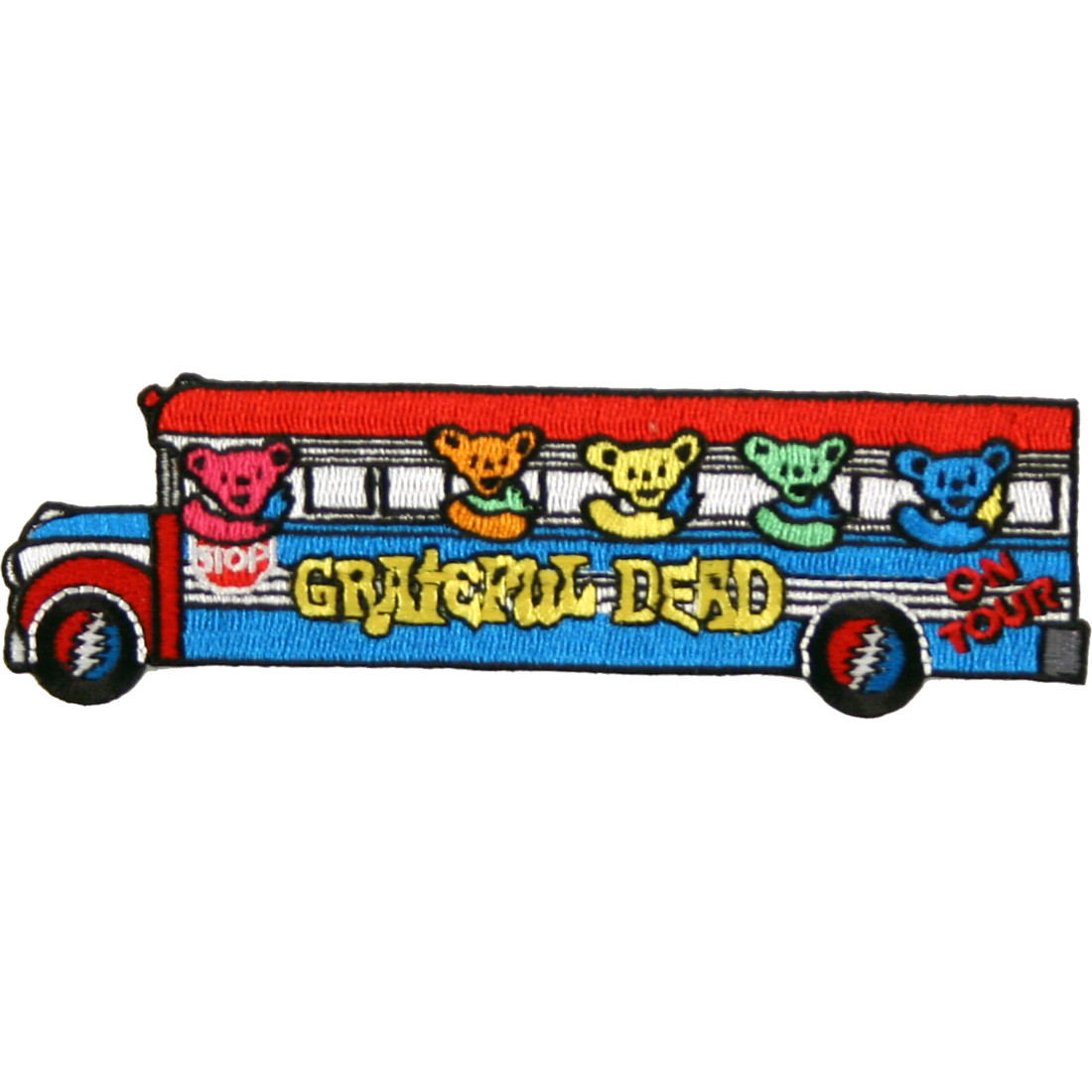 Bears On The Bus Patch