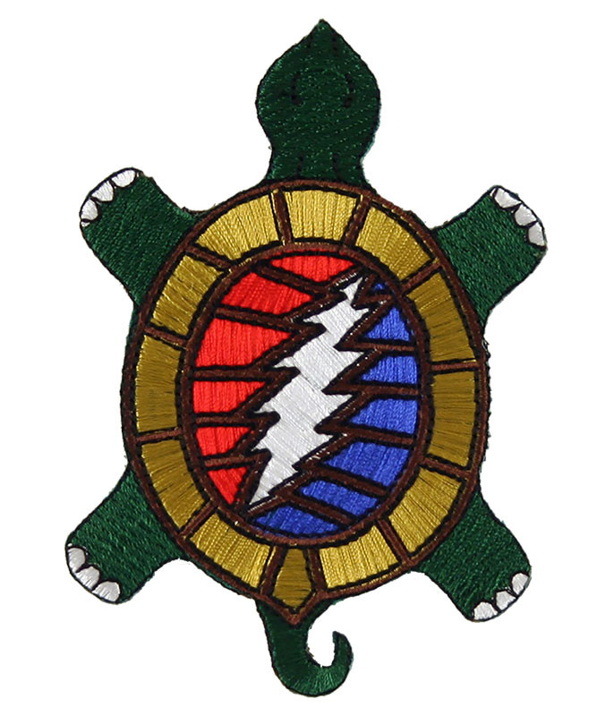 Grateful Dead Steal Your Terrapin Patch