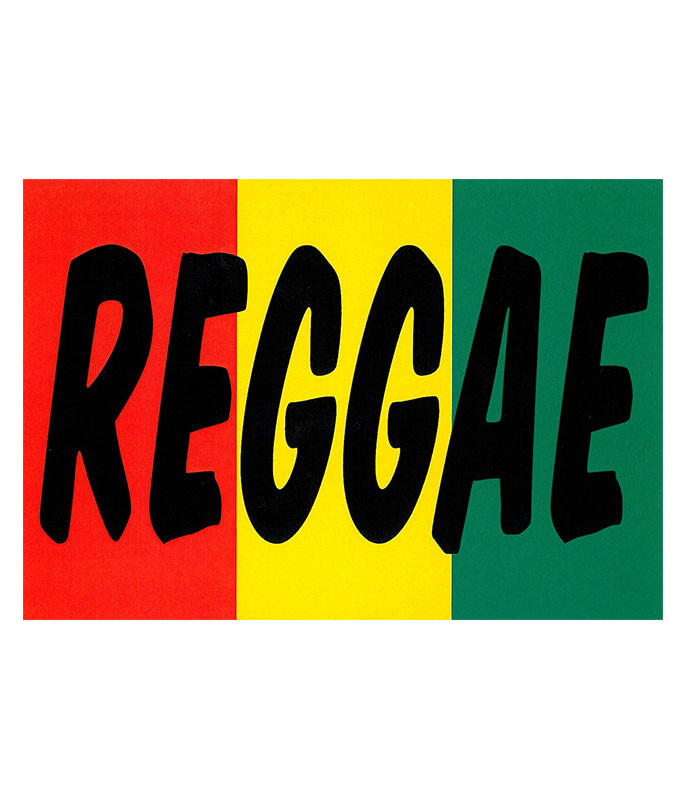Reggae Sticker
