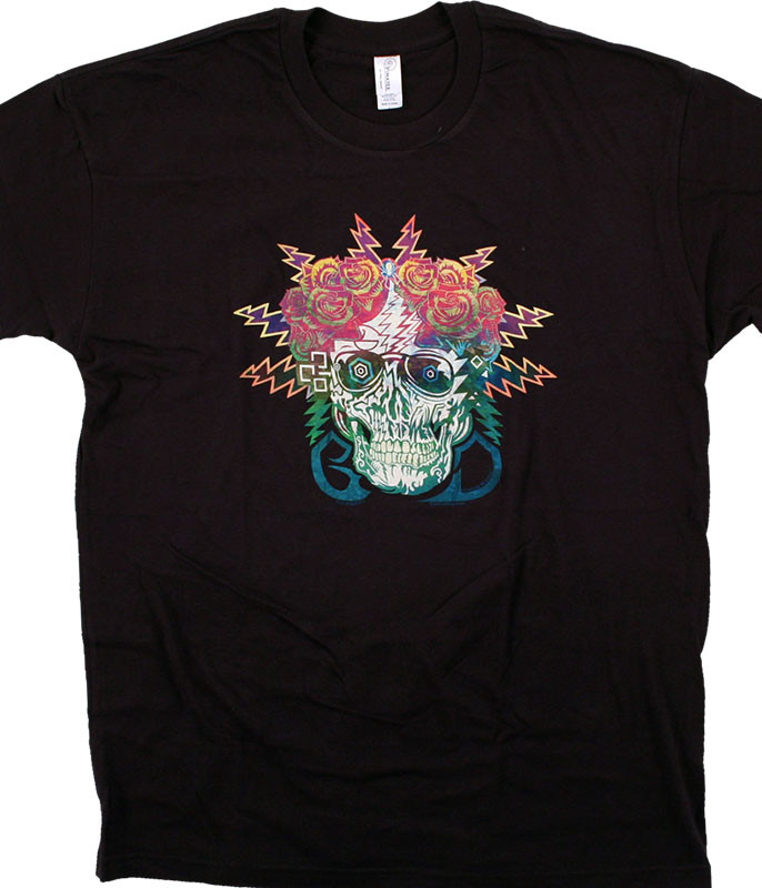 Grateful Dead GD Electric Dimensions Black T-Shirt Tee